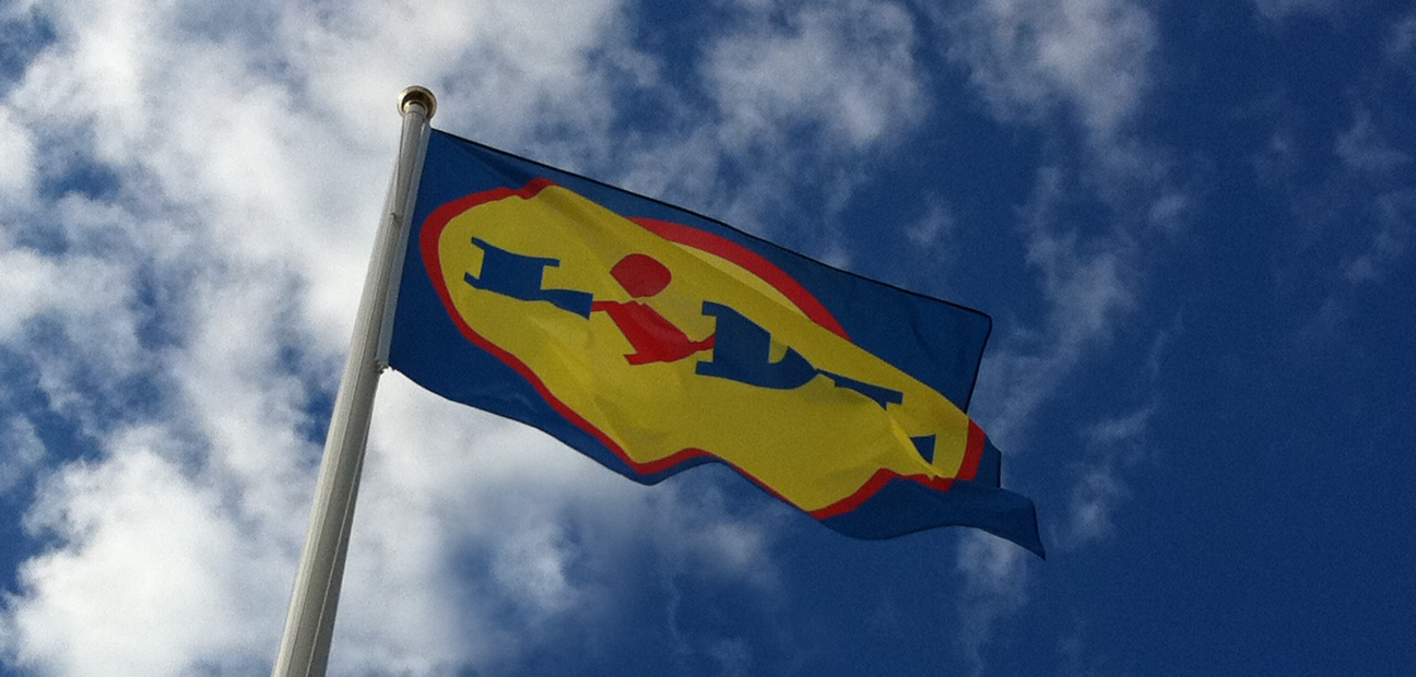 Flagga-miljö-beskuren